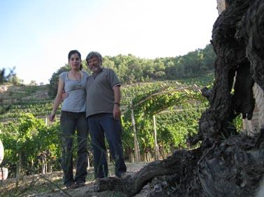 René Barbier me dio un tour por algunas de las viñas en las que trabaja y a las que adora, en las regiones de Priorat y Montsant