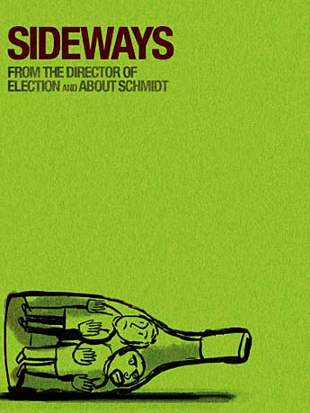 Cartel de la película Entre Copas (Sideways)