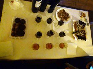 Vinos listos para el maridaje con chocolates