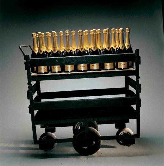 El Champagne es sensual por naturaleza, imaginad la de sensualidad que hay en este carro!