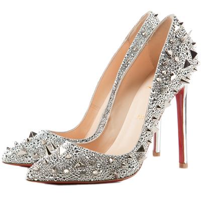 Otra de mis pasiones son los zapatos, así que me atrevo a proponer esta combinación ideal, Loboutin y Krug
