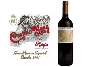 Me encantan ambos vinos, pero la etiqueta de la izquierda, si no lo conozco, me resulta rancieta (ojo, a mí, que para gustos...)