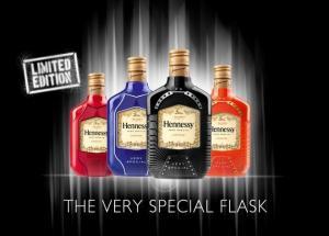 Las petaquitas de Hennessy en los colores de 2012... No hay rosaaaaa