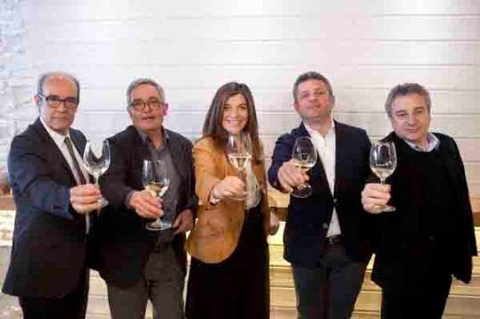 Parte del jurado de este año, Fernando Gurucharri, Siscu Martí, Xandra Falcó, Álvaro Palacios y Quim Vila